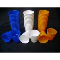 Vasos Apilables De Plástico Duro Irrompibles Pack Por Docena