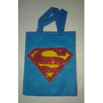 Sacolinha Lembrancinha Infantil Personalizada Super Homem
