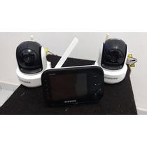 Babá Eletronica Samsung Sew-3038w Com Duas Câmeras