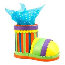 Dulcero Bautizo Cumpleaños Presentación Zapato Payaso Foamy