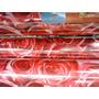 Plástico Auto Adesivo Rosas Vermelhas Romântico - 15 Metros