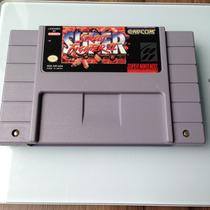 Cartucho Super Street Figther 2 Original - Super Nintendo
