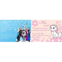 30 Convites Personalizados+ Envelope + Frete Grátis