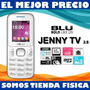 Telefono Blu Jenny Tv 2.8 Camara+flash Mp3, Radio,facebook