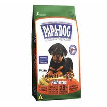 Ração Papa Dog Cães Filhotes Carne E Vegetais 25kg