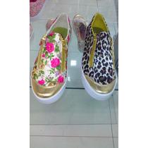 Zapatos De Dama Animal Print Estampados