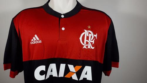 Camisa adidas Home Flamengo 2017 2018 Nova Oficial - R  100 87fd058780ddc