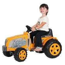 Trator Infantil Vermelho Pedal Buzina - Biemme