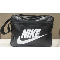 Pasta Bolsa Mala Masculina Femina Nike Carteiro Couro P.u