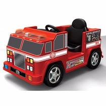 Camion De Bombero Montable De 6 Volt Kit Motorz.envio Gratis