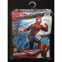 Disfraz Hombre Araña Spiderman. Nuevo! Niño 7 Años