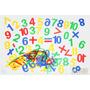 Juego Didáctico Estudiar Aprender Números Plástico 7190 85f