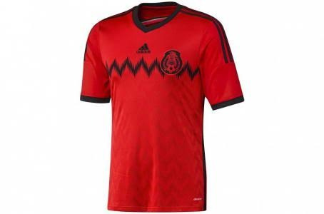 Jersey Rojo Selección Mexicana Original -   379.00 en Mercado Libre 21c78597fb6d4
