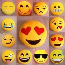 Oferta 3 Cojines/peluches De Emoticon Con Estilos Variados