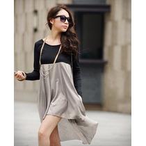 Vestido Casual Moderno Moda Japonesa Asiatica 0102