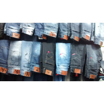 Kit C/10 Calça Jeans Masculinas Várias Marca Atacado Revenda