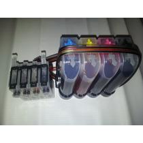 Sistema De Tinta Sin Chip 4 Colores(tx110, Tx130, T21) New