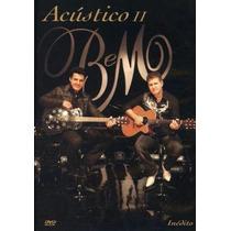 Dvd Bruno E Marrone - Acústico Ii - Inédito (958651)