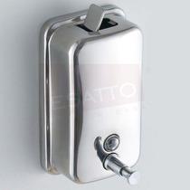 Esatto ® - Despachador De Jabón Líquido Acero 1 Lt Di-003