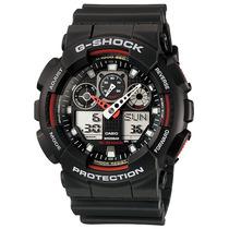 Reloj Casio G-shock Ga100 200mts Analogo-digital Luz Led