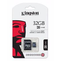 Micro Sd 32gb Kingston Clase 4 Tabletas Camaras Celulares