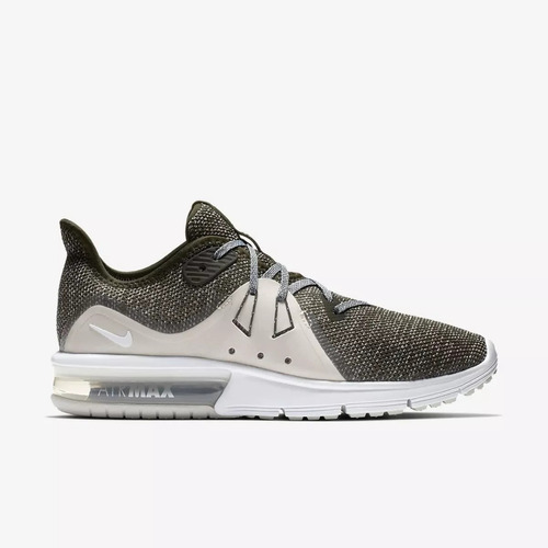 3ed9bf563f3 Tênis Nike Air Max Sequent 3 Verde Original - R  319
