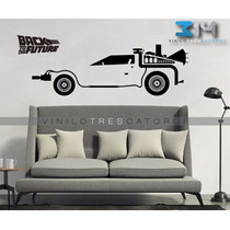 Vinilo Decorativo Volver Al Futuro 03 Carro Delorean Sticker