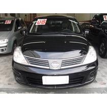 Nissan Tiida 1.8 S 2008 Unico Dono Mais Couro