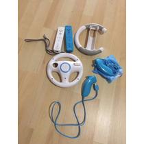 Consola Wii,balance,guitarra,2 Controles,2 Nuchuk 21 Juegos