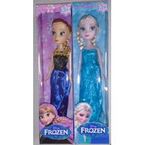 12 Bonecas Filme Frozen Elsa E Anna Disney Atacado E Varejo