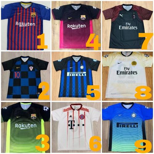 ee52201e0d Camisas Camiseta De Time Futebol Varejo Barato Promoção - R  28