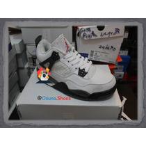 Zapatos Jordan Retro 4 Dama Y Caballero
