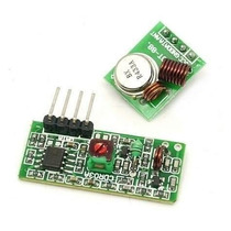 Módulo Rf 433mhz, Transmissor + Receptor
