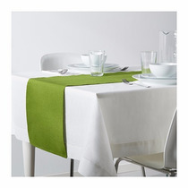 Ikea - Camino Mesa Sueco Märit Algodón Verde 8 Colores