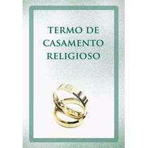 Livro De Casamento Religioso