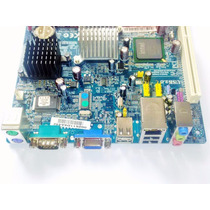 Placa Mãe Ddr2 + Processador A230 1600mhz P45gcat +frete