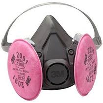 3m 6391 P100 Reutilizable Respirador Máscara De Gas - Large