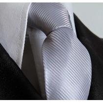 Gravata Prata Para Terno Formatura Padrinhos Debutantes Loja