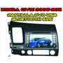 Estereo Pantalla Dvd Gps Bt Usb Honda Civic 2006 -2011 Nueva