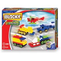 Ladrillos Blocky Vehiculos 3 Oferta 200 Piezas