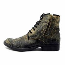 Borcego Tascani Musk Negro Diol Zapato Vestir Envio Gratis