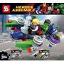Capitão América Hulk Iron Man Thor Avengers Assemble Cars