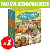 Cocina Para Tu Salud, Recetas Sanadoras, Naturales, 4 Tomos