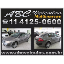 Megane Sedan Expression 1.6 Flex Ano 2008 - Financio