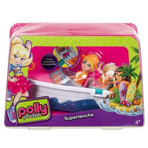 Polly Pocket Sortimento Veiculo Superlancha Mattel Ref.cmg40