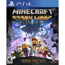 Minecraft: Modo Historia - Season Disc (ps4)