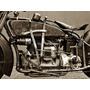 Moto 1929 Indian Ace, Lamina 40 X 30 Cm