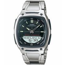 Relógio Casio Aw-81 D Wr-50m 30 Fones Hora Mundial Aw-80 Pt