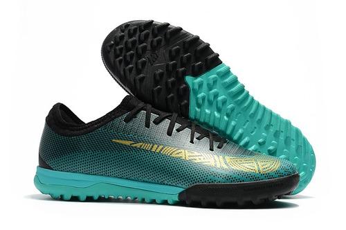 effc220bd5 Chuteira Nike Mercurial Vapor X Vii Pro Cr7 Tf - Society  ab - R ...