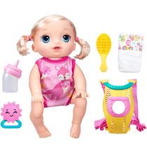 Boneca Baby Alive Vamos Passear Loira B6048 Hasbro